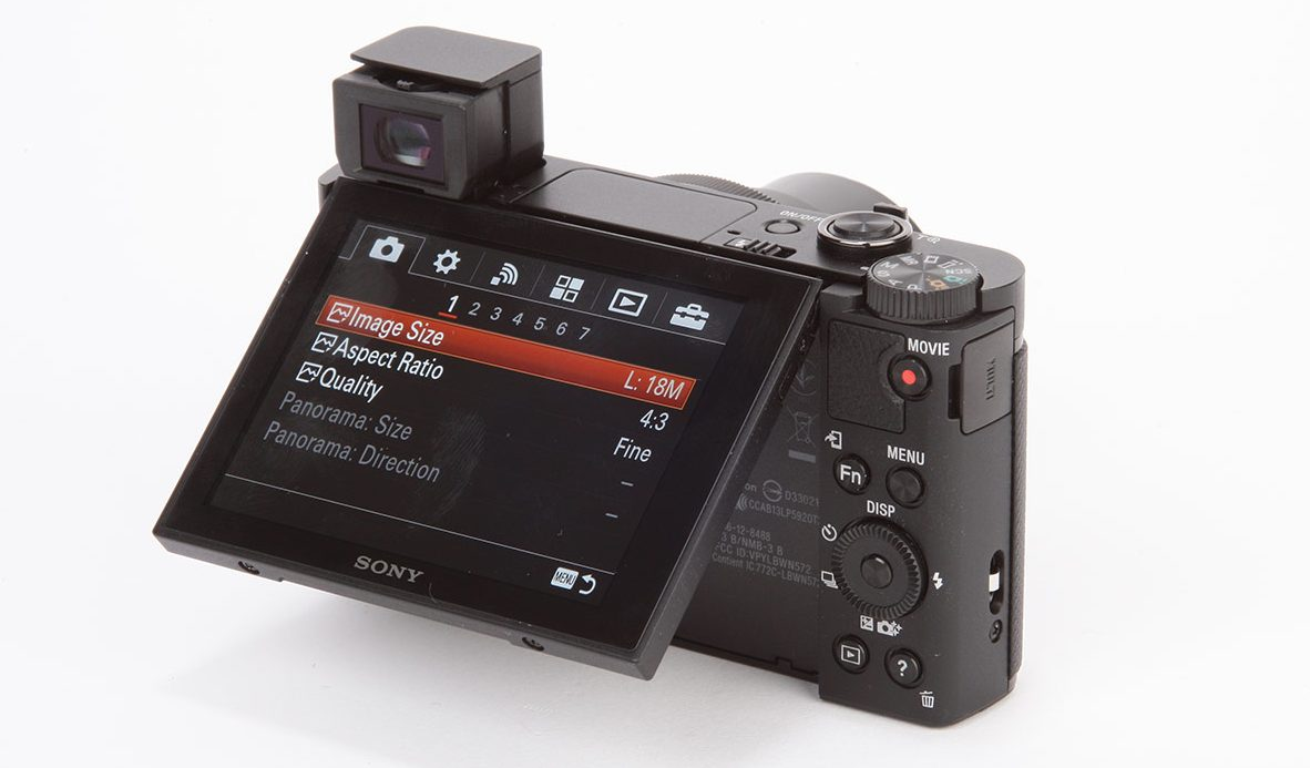 Cámara digital Sony Cyber-shot DSC-HX90V